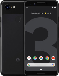 Pure TalkUSA Google Pixel 3 64GB - Just Black