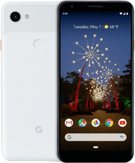 Pure TalkUSA Google Pixel 3A XL 64GB - Clearly White