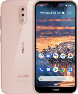 Pure TalkUSA Nokia 4-2 32 GB -  Pink Sand