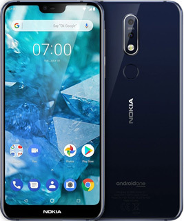 Pure TalkUSA Nokia 7-1 64 GB - Gloss Midnight Blue