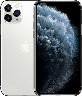 Pure Talk Apple iPhone 11 Pro Max 64GB Silver