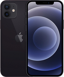 Pure Talk Apple iPhone 12 256GB Black