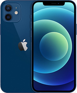 Pure Talk Apple iPhone 12 256GB Blue