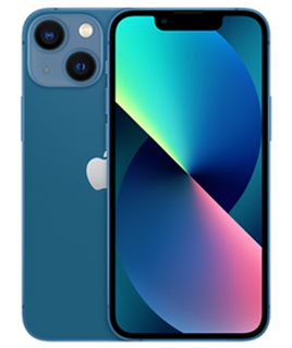Pure Talk Apple iPhone 13 mini 256GB Blue