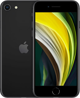 Pure Talk Apple iPhone SE 256GB Black