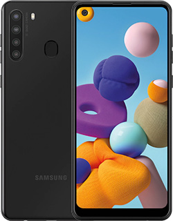 Pure TalkUSA Samsung A21 32GB Black