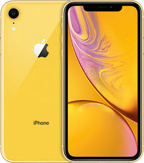 Pure TalkUSA Apple iPhone XR 64GB Yellow