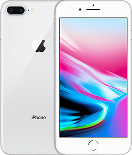 Pure TalkUSA Apple iPhone 8 Plus 64GB Silver