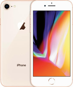 Pure TalkUSA Apple iPhone 8 Plus 64GB Gold