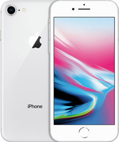Pure TalkUSA Apple iPhone 8 Plus 64GB - Silver