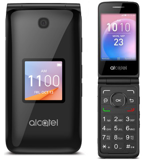 Pure TalkUSA Alcatel Go Flip - Black